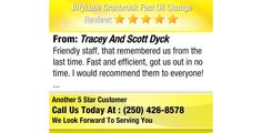 Friendly staff, that remembered us from the last time. Fast and efficient, got us out in...