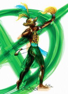 Yoruba Orishas, African Mythology, African Life, Native American Artwork, Black Art, Tatoos, Religion, Spirituality, Holiday Decor