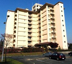 This apartment tower at Yokota Air Base, Japan, was the site of an eighth-floor fire in 2003.