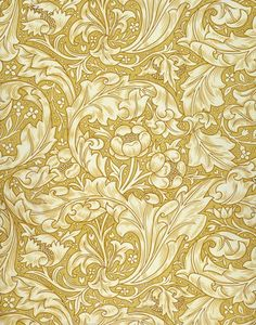 Bachelor's Button Wallpaper, by William Morris