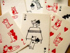 Cats. The internet's playing cards.