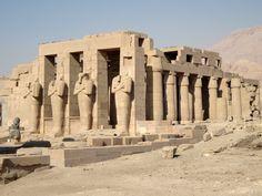 Ramesseum - Temple of Ramses