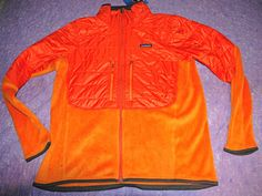 Patagonia Men's Nano Puff Hybrid Jacket Slim Fit Orange Sz XXL $249.00 NWT #Patagonia #HybridJacket