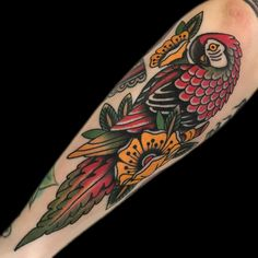 Squeezed this little parrot onto Blair's arm the other day.  Thanks as always!
