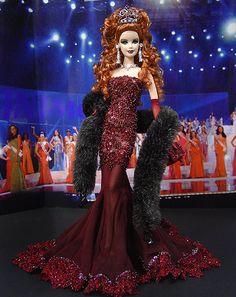 OOAK Barbie NiniMomo's Miss Scotland 2010
