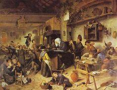 Jan Steen describe la vida diaria holandesa en el siglo XVII