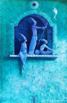 Merab Gagiladze  -  Acquaintance 2 Believe In Magic, Palace, Engine, Doodles, Sleep, Paintings, Artists, Illustrations, Dreams