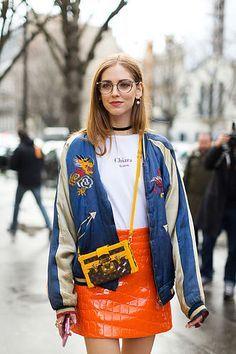 La Femme Fatale/ Paris Fashion Week / Chiara Ferragni look/ http://www.lafemmefatale.mx