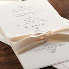 Elegant Invitations by The Wedding Cottage - Bravo! Wedding