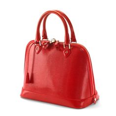 Hepburn Bag in Red Lizard from Aspinal of London absolutely gorgeous & impeccably crafted...x