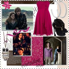 """Ron & Hermione."" by sectumsempra on Polyvore"