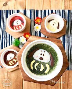 ouchigohan.jp 2018/01/05 18:10:26 delicious photo by @hamama_126 . 今年は戌年犬といえば、みんな大好きな #スヌーピー ❤️ デコ弁やデコスイーツのモチーフとしても、大人気のキャラクターです✨ . こちらのかわいいだるまスヌーピー、実は抹茶味のパウダーをかけたミルクプリン 後ろに見える茶色と赤のスヌーピーは、ココアパウダーといちごパウダーで味をつけているそうです 見た目も華やかで、いろいろな味が楽しめるのもすてきですね☺️ . 普通のスヌーピーもとってもかわいいですが、カラフルなだるまに変身した姿は、またひと味違ったかわいさ❣️年始のおやつにもぴったり . @hamama_126 さんはブログで、このミルクプリンの作り方を紹介されているそう。スヌーピー好きの方は必見ですね☝️ . -------------------------- ◆#デリスタグラマー #delistagrammer を付けて投稿すると紹介されるかも!スタッフが毎日楽しくチェックしています♪ . [staff : HOUSE]…