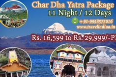 Char dham Yatra tour Packages.