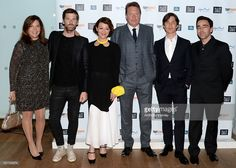 Caryn Mandabach, Paul Anderson, Helen McCrory, Steven Knight and Cillian Murphy attend the Premiere of BBC Two's drama 'Peaky Blinders' episode one, series three at BFI Southbank on May 3, 2016 in London, England.