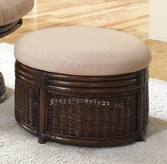 Cool! :)) Pin This &  Follow Us!  zPatioFurniture.com is your Patio Furniture Gallery ;) CLICK IMAGE TWICE for Pricing and Info :) SEE A LARGER SELECTION of  patio ottoman  at http://zpatiofurniture.com/category/patio-furniture-categories/patio-ottoman/-  #home #patio #homedecor #patioottoman  -  Hospitality Rattan Legacy Rattan & Wicker Ottoman with Cushion – Antique « zPatioFurniture.com
