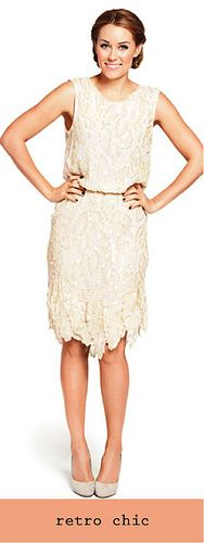 Retro Chic / Lauren Conrad #prom