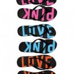 YESS PINK flip flops FINALLY for summertime!