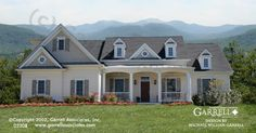 Garden Crest House Plan 02208, Front Elevation, Ranch Style House Plans, Master Down House Plans, Traditional House Plans