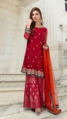 cdf80bb564 Maria B Chiffon Collection. Maria B Online Replica Shop. Replica Online  Store in Pakistan. Online Party Dress Shopping in Pakistan.