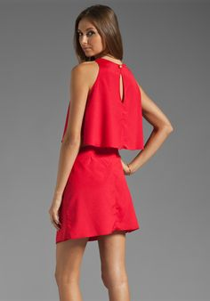 BOULEE Cynthia Mini Dress in Red at Revolve Clothing - Free Shipping!