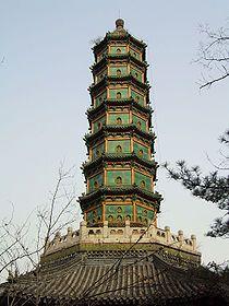 香山公園中的琉璃塔