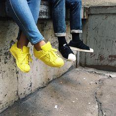 Supercolor Adidas Yellow