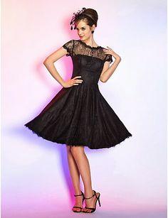Bonitos vestidos de fiesta de color negro | Moda 2014