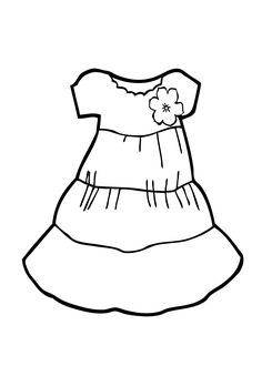 Dress Coloring Pages Printable Dress coloring pages dress with bows coloring page for girls printable free coloing. In this category we collected the best coloring pages for girls. Wedding Coloring Pages, Frozen Coloring Pages, Summer Coloring Pages, Detailed Coloring Pages, Online Coloring Pages, Cute Coloring Pages, Coloring Pages For Girls, Coloring Pages To Print, Free Printable Coloring Pages