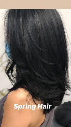 Haircuts Straight Hair, Haircuts For Medium Hair, Bangs With Medium Hair, Medium Hair Cuts, Long Hair Cuts, Straight Hair With Layers, Medium Straight Hairstyles, Long Hairstyles With Layers, Medium Hair Styles