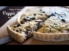 チーズや卵を使わないとってもヘルシーな野菜のキッシュの作り方:Vegan Quiche Recipe   Veggie Dishes by Peaceful Cuisine