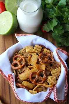 slow cooker fiesta ranch chex mix