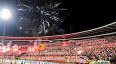 Una cartolina da Belgrado; Zvanična prezentacija FK Crvena zvezda vs Partizan RedStar Belgrade #ultras