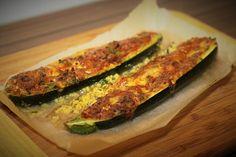 Zapečená cuketa s tvarůžky /Baked zucchini with cheese/ Bezlepkový a nízkosacharidový zdravý recept / Gluten free and low carb healthy recipe/ Zucchini, Paleo, Gluten, Vegetables, Fitness, Recipes, Free, Beach Wrap