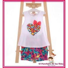 CONJUNTO CORAZON - BLANCO Peplum, Tank Tops, Women, Fashion, Hearts, White People, Style, Clothing, Moda