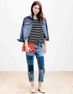 A look from Madewell's spring 2015 lookbook. Photo: Madewell
