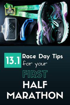13.1 Half Marathon Race Day Tips