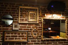 Design Interieur   #bar #montreal #design #plateau #cadres #miroir