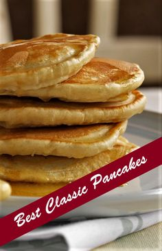 Easy Classic Pancake Recipe – Some Great Ideas for Cooking Best Chicken Recipes, Top Recipes, Simple Recipes, Cooking Recipes, Yummy Yummy, Delicious Recipes, Yummy Food, Popular Food, Popular Recipes