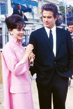 Natalie Wood andWarren Beatty at the Cannes Film Festival, 1962.