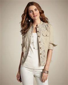 Chic lace jacket