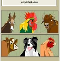 16 Farm Animals E-Book - via @Craftsy