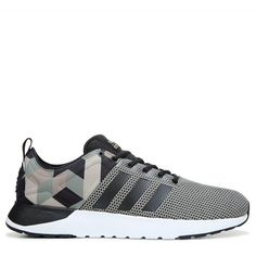 Adidas Men's Neo Cloudfoam Super Racer Sneakers (Green/Black/Khaki) - 13.0 M