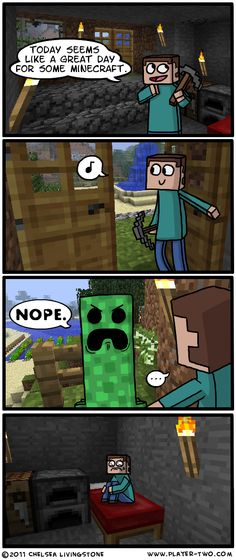 Minecraft Time by ~ColonelCheru on deviantART