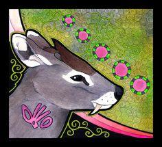 Tufted Deer as Totem by Ravenari on deviantART