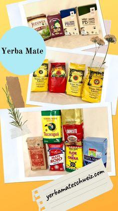 Verkauf von Yerba Mate in den origienellen Verpackungen von Produzenten. Yerba Mate, Snack Recipes, Snacks, Pop Tarts, Packaging, Food, Snack Mix Recipes, Appetizer Recipes, Appetizers