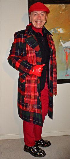 "Vintage bespoke DB overcoat, Jack Spade boiled-wool jacket, Haight & Ashbury turtleneck, DL 1961 ""Nick"" jeans, Doc Martens boots… #Vintage #bespoke #JackSpade #HaightAndAshbury #DL1961 #DocMartens #mensfashion #fashion #dandy #dapper #sartorial #sprezzatura #menshoes #mensweardaily #menstyle"