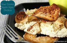 Slow-Cooker Apple Dijon Chicken / Busy Mom's Helper