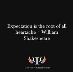 Expectation...