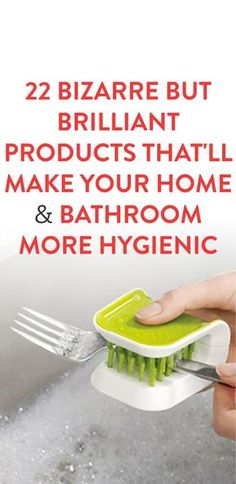 22 Bizarre But Brilliant Products That'll Make Your Home & Bathroom More Hygienic