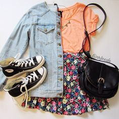 Love this but with short Chucks instead ;)